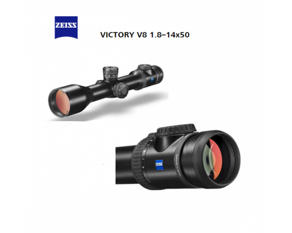 Zeiss VICTORY V8 18 14x50 ret. 60 with ASV E 1000x800